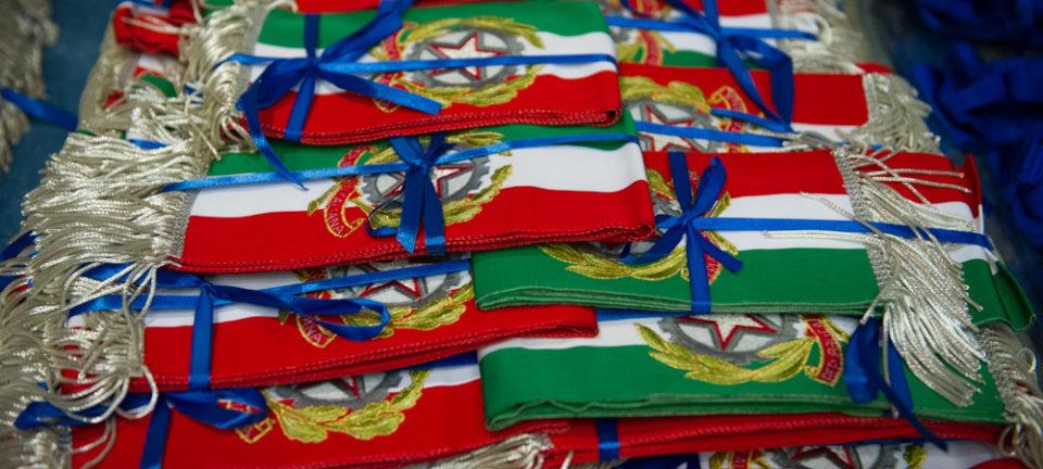 Sciarpa tricolore